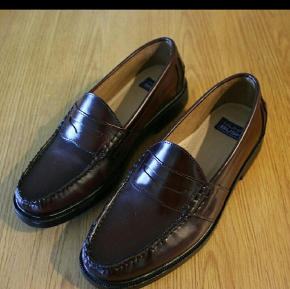 Nunn Bush Penny Loafers Mens Size 15